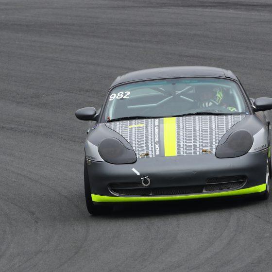 grey car circuit race