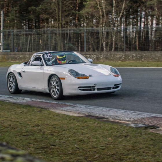 white car circuit